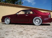 Ford tuning Mustang 1986 svo red