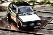 Volkswagen Golf 1 GTI  police / polizei Solido