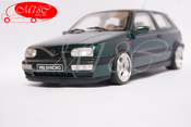 Volkswagen tuning Golf III VR6 synchro green OZ racing wheels