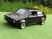 Miniature German Look Volkswagen Golf 1 GTI jantes BBS kit large