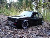 Miniature German Look Volkswagen Golf 1 GTI jantes ATS german look