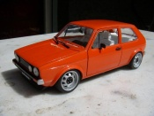 Volkswagen Golf 1 GTI jantes ATS 15 inches orange