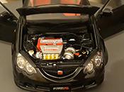 Honda Integra Type R miniature DC5 noire jantes mugen 17 pouces