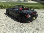 Honda tuning S2000 black wheels 18 inches