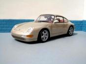 Porsche 993 Carrera  champagne Ut Models