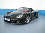 Porsche Carrera GT nero
