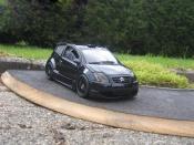 Citroen C2 miniature street race trohpy