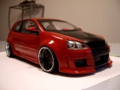 Volkswagen Golf V GTI zender red