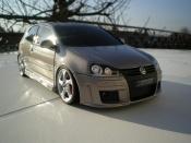 Volkswagen Golf V GTI  zender jantes porsche Norev
