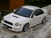 Subaru Impreza WRX STI wheels roja