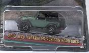 Jeep Wrangler green/matt-black 2015