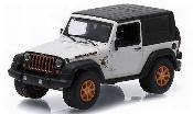 Miniature Jeep Wrangler   blanche/Dekor 2012