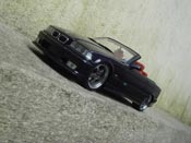 Bmw tuning M3 E36 cabriolet ruote kinesis