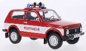 Lada Niva rot/weiss Feuerwehr 1978