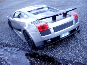 Lamborghini tuning Gallardo Superleggera gray foncee