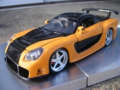 Miniature Fast and Furious Mazda RX7 kit veilside fast and furious 3
