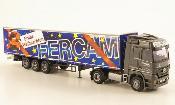 Mercedes Actros miniature MP3 LH/Aerop. FERCAM/Buon Natale G-KSZ