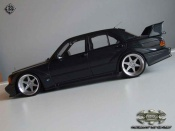 Mercedes tuning 190 Evo 2.5 16 evolution 2 wheels big offset