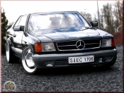 Mercedes 500 SEC wheels 20 inches