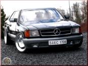 Mercedes 500 SEC ruote 20 pollici