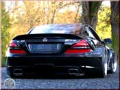 Mercedes SL 65 amg black wheels 19 et 20 inches