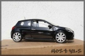 Renault Clio 3 RS nero preparee tuning
