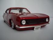 Chevrolet Camaro Z28 1967 street racer red