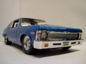 Miniature Muscle car Chevrolet Nova 1972 joy ride