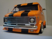 Chevrolet Van orange