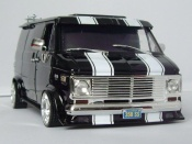 Chevrolet tuning Van black