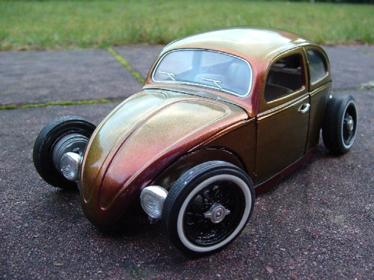 Miniature Hot Rod Volkswagen Kafer Hot Rod coxinelle hot rod cameleon