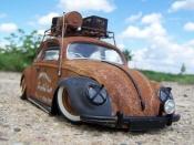 Volkswagen Kafer   coccinelle kafer ratte Burago