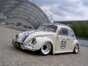 Volkswagen Kafer Herbie coxinelle wheels big offset