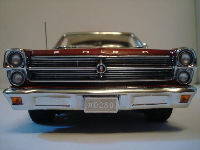 Ford Fairlane 1966 390 c.i. 4 speed street ember glow