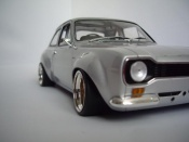 Ford tuning RS 1600 gray wheels nid dabeilles