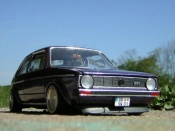 Miniature German Look Volkswagen Golf 1 GTI jantes Tramont german look