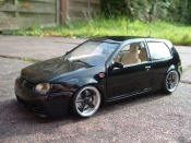 Volkswagen Golf 4 GTI black