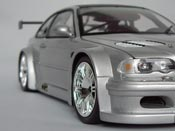 Bmw M3 E46 GTR gray Minichamps