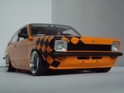 Opel tuning Kadett Coupe sr 1976 orange
