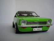 Opel Kadett Coupe  sr 1976 green Minichamps