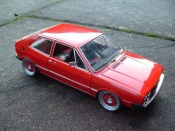 Volkswagen Scirocco GTI  red Revell