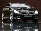 Mercedes tuning SLK black brabus