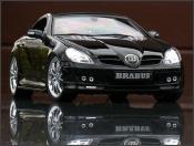 Mercedes tuning SLK schwarz brabus