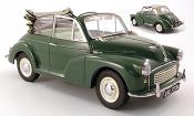 Miniature Morris Minor   1000 Tourer verte 1962
