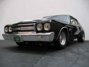 Chevrolet tuning Chevelle 1970 ss black wheels drag