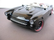 Chevrolet tuning Corvette 1957 chevy v8 drag