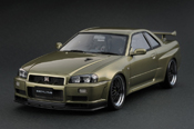 Nissan Skyline Ignition-Model R34 GTR V-spec II Millennium Jade IG0163