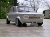 NSU TT racing gray