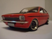 Opel Kadett Coupe sr 1976 red