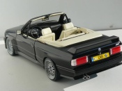 Bmw M3 E30 convertible black wheels bbs 17 inches